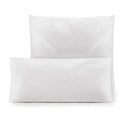 Blumtal 2er-Set Kopfkissen Milbenbezug für Allergiker - Kissenbezug Milbenschutz Encasing, waschbar, 80 x 80 cm