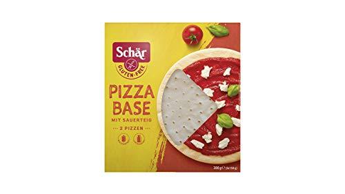 Schär Pizza Base mit Sauerteig, glutenfrei 300g, 8er Pack
