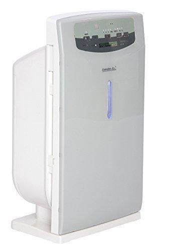 Comedes LR 200 Luftreiniger, Luftwäscher Rauchverzehrer, Luftionisator mit HEPA-Filtermedium gegen Staub und schlechte Gerüche (Raumgröße bis zu 40 m²)