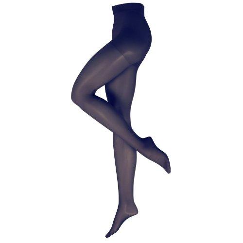 Nur Die Damen Stützstrumpfhose 719100/Fit in Form, Gr. 48 (44-48/L), blau (marine 351)