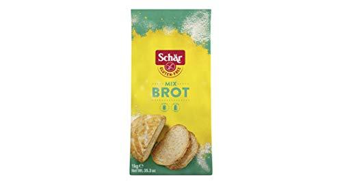 Schär Mix B - Brot Mix Backmischung glutenfrei 1kg, 10er Pack