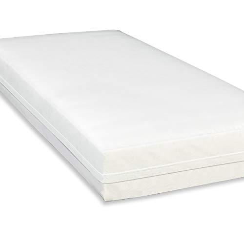 Softsan Extraweich Allergiker Matratzenbezug milbendicht 90x200 cm, Höhe 25 cm, Encasing zum Milbenschutz für Hausstauballergiker milbenkotdicht