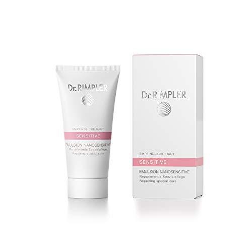 Dr. Rimpler Sensitive Gesichtscreme für Allergiker parfümfrei I Feuchtigkeitscreme bei Rötungen, Entzündungen, Juckreiz, trockene Haut I mit natürlichen Ölen für empfindliche Haut