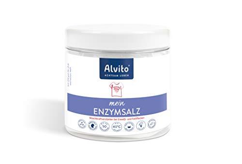 Alvito Enzymsalz Waschmittel, Weiß, 500g, 500