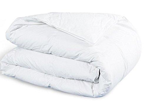Bettdecke winterdecke Steppdecken Schlafdecke - Ganzjahresdecke warm für Allergiker Steppbettdecke weiß hypoallergen (Weiße Bettdecke, 135 x 200 cm)