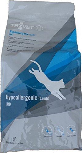 3kg Trovet LRD Hypoallergenic Lamm Diätfutter Katzenfutter