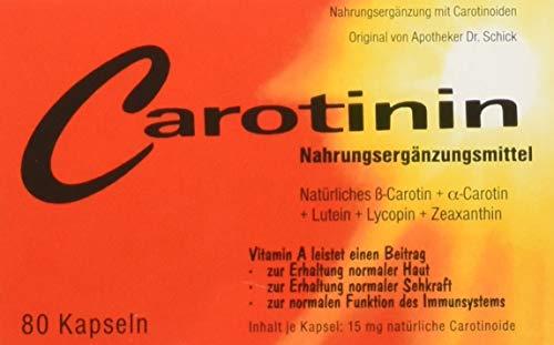 Carotinin Kapseln 80 Stk, 51 g