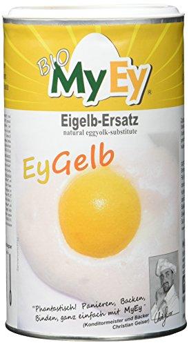 MyEy EyGelb, BIO Eigelb-Ersatz, vegan, sojafrei, cholesterinfrei (1 x 200 g)