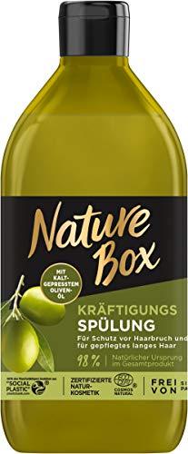Nature Box Kräftigungs-Spülung Oliven-Öl, 385 ml