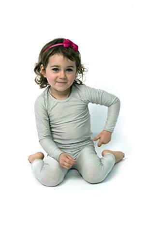 Silvercare Babybody Langarm mit Silberfasern (74/80)