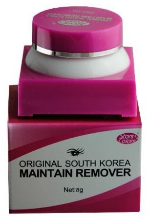 StarsColors Wimpernentferner Crème (Eyelash Remover Cream) by LBC - Für sensitive Haut - 8 g