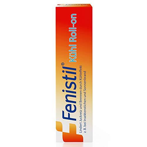 Fenistil Kühl Roll-on, zur Linderung von Juckreiz bei Insektenstichen, 8 ml