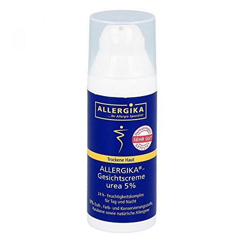 ALLERGIKA Gesichtscreme Urea 5% für trockene Haut, 50 ml Creme