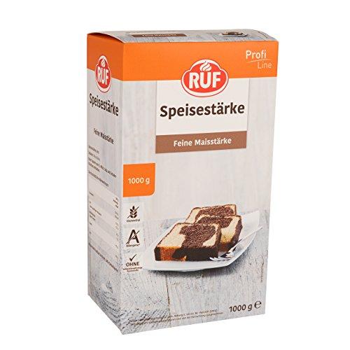 RUF Feine Speise-Stärke glutenfrei reine Mais-Stärke, 1er Pack (1 x 1000 g)