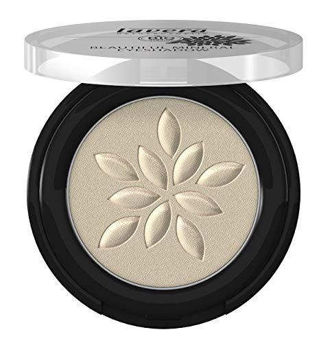 lavera Beautiful Mineral Eyeshadow -Shiny Silver 39- Lidschatten ∙ Traumhaft sanfte Textur ∙ Vegan Naturkosmetik Natural Make-up Bio Pflanzenwirkstoffe 100% natürlich 3er Pack (3x 2 g)