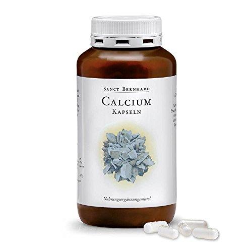 Calcium-Kapseln - 250mg reines Calcium/Kapsel - 300 Kapseln