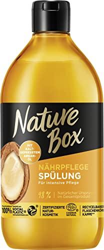 Nature Box Nährpflege-Spülung Argan-Öl, 385 ml