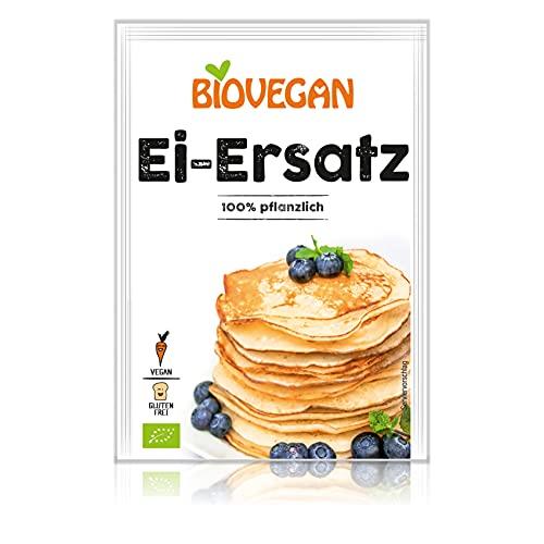 Biovegan Ei-Ersatz, pflanzlicher Eiersatz zum Backen und Kochen, für süße und herzhafte Gerichte, entspricht 4 Eiern, glutenfrei und vegan (15 x 20 g)