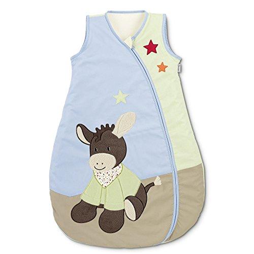 Sterntaler Sommer-Schlafsack für Kleinkinder, Reißverschluss, Größe: 90, Emmi, Bunt