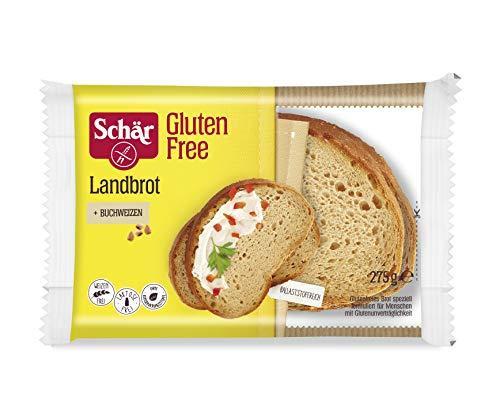 Schär Glutenfrei Landbrot, 5er Pack (5 x 275 g)