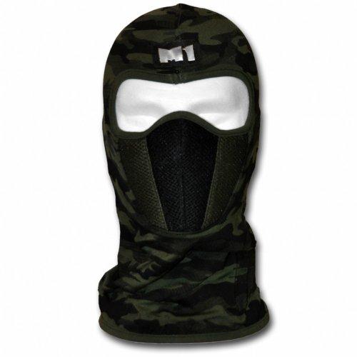 WINDMASK ® Sturmhaube M1 mit Staub- und Pollenfilter - Camouflage