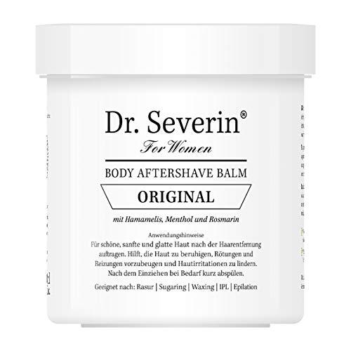Dr. Severin® Women Original After Shave Balsam I Gegen Rasierpickel Rötungen I Rasur Epilation Waxing Sugaring I 200 ml Dose