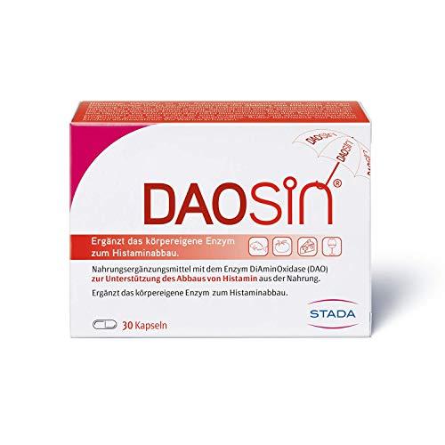DAOSiN – magensaftresistente Kapseln mit Diaminoxidase Enzym – 1 x 30 Kapseln