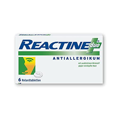 REACTINE duo Retardtabletten, 6 St. Kapseln