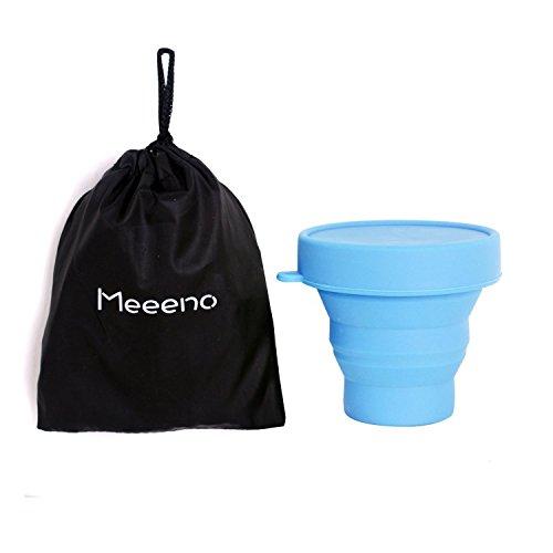 2Stück Menstruationstassen Substitution der Damenbinden und der Stempel (Größe und Farbe den Wahl) blau Grands