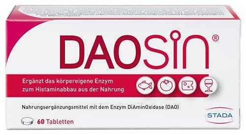 DAOSiN – magensaftresistente Tabletten mit Diaminoxidase Enzym – 1 x 60 Tabletten