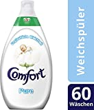 Comfort Intense Weichspüler Pure, 180 WL, 3er Pack (3 x 60 WL)