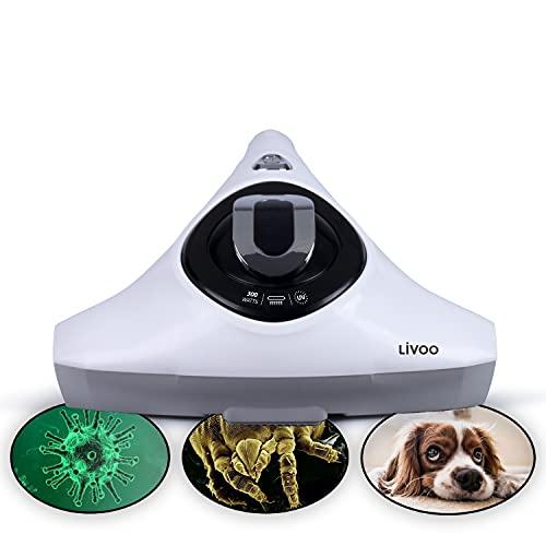 Milbenstaubsauger mit UV Licht und Hepa Filter Milbensauger Allergiker Handsauger (Tierhaarentferner Staubsauger Tierhaare, Für Matratzen, Matratzensauger)
