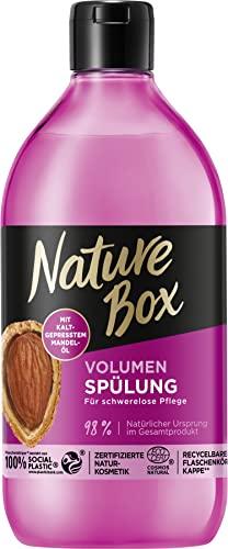 Nature Box Volumen-Spülung Mandel-Öl, 385 ml
