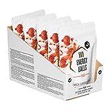 nu3 Bio Energy Balls - Pizza – 5 x 70 g – Vegan, glutenfrei & ballaststoffreich – Gesunde Snacks mit Maca, Guarana, Acerola & Vitamin C – natürliche Zutaten
