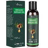 Bio Arganöl 150ml Argan Oil Kaltgepresst Biologisches Serum aus Vegan Marokko Öl Anti-Aging & Anti-Falten Öl-Naturkosmetik für Gesichtspflege & Körper, Gesicht Haut Haare & Augenbrauen