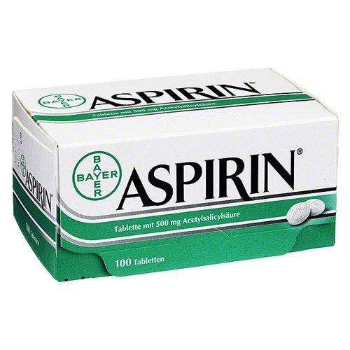 ASPIRIN 0,5 Tabletten 100 St Tabletten