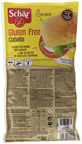 Schär Ciabatta glutenfrei 200g, 6er Pack