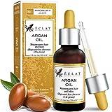 100% kaltgepresstes Bio Arganöl aus marokkanischen Arganbäumen - Natürliches Arganöl für maximale Reinheit - 100% schnell einziehendes, kaltgepresstes Bio Arganoel mit Vitamin E und Omega 6 Fettsäuren