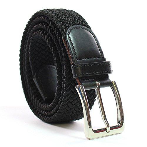 Komfortabel Elastische Geflochtener Stretch Gürtel - Stretchbelt - Stoffgürtel - Gürtel Flecht - Damen und Herren
