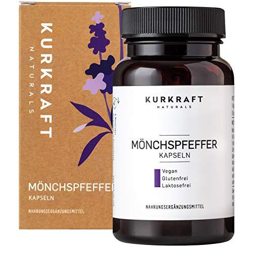 Kurkraft Mönchspfeffer Extrakt - Original Vitex Agnus Castus - 10mg Extrakt je Kapsel - Vegan - Sorgfältig hergestellt in Deutschland