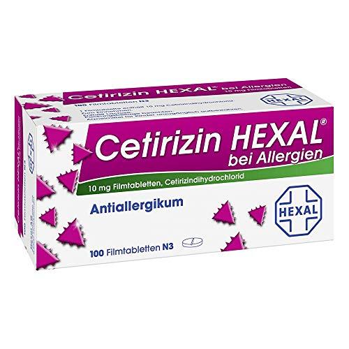 Cetirizin Hexal bei Allergien, 100 St