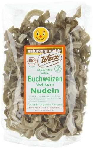 Werz Buchweizen-Vollkorn-Nudeln glutenfrei, 4er Pack (4x 200 g) - Bio