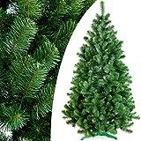 DecoKing 52501 150 cm Künstlicher Weihnachtsbaum grün Tanne Lena Weihnachtsdeko