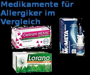 Medikamente für Allergiker Vergleichen
