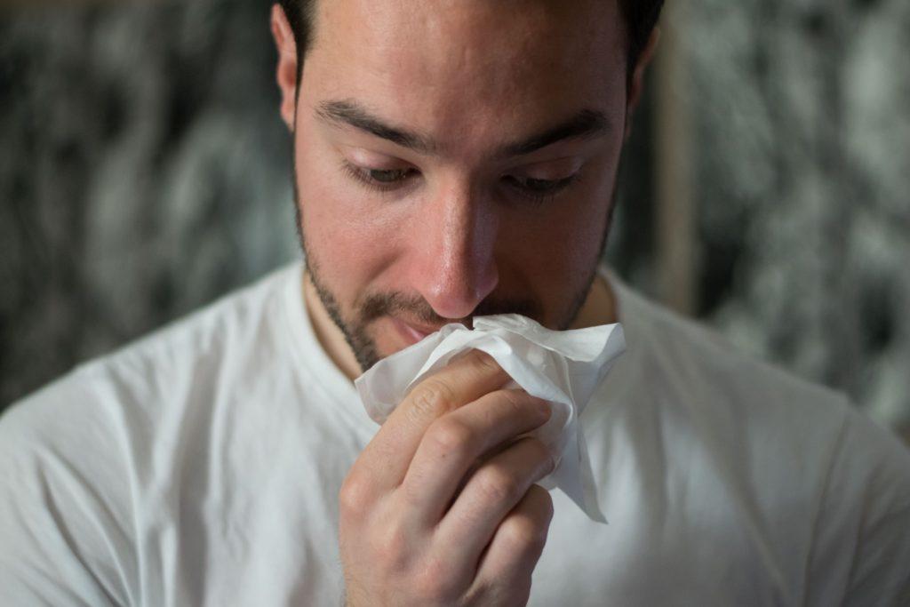 Plötzlich Allergie
