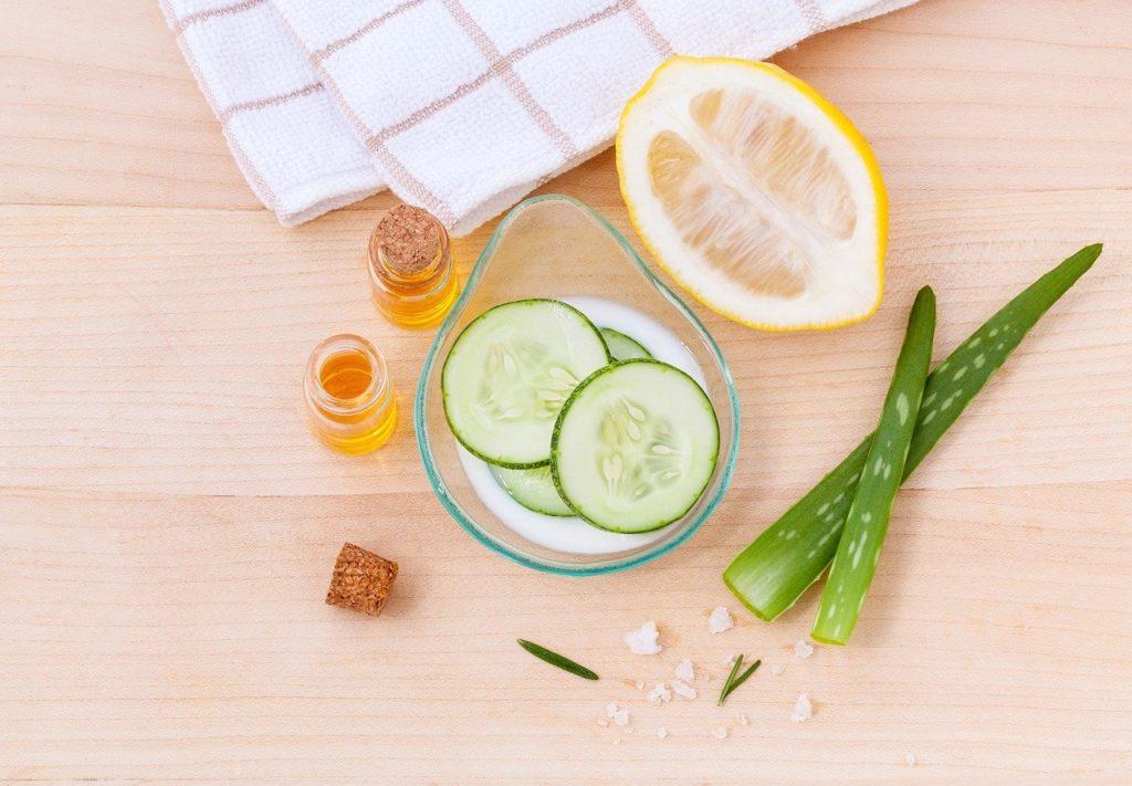 Hautpflege mit natürlichen Mitteln